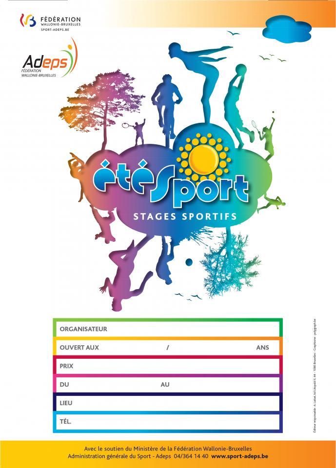 Affiche Été Sport