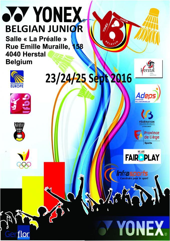 Yonex Belgian Junior 2016